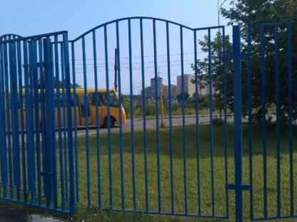 Ограждение автомойки в г.Мытищи
