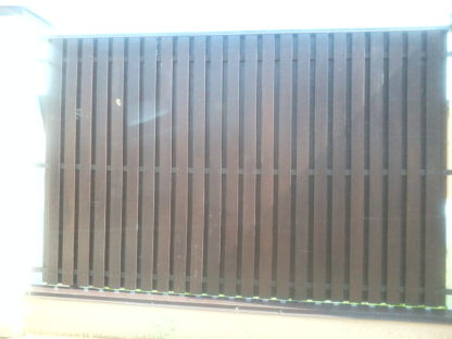 забор из металлического штакетника в г. Красногорск