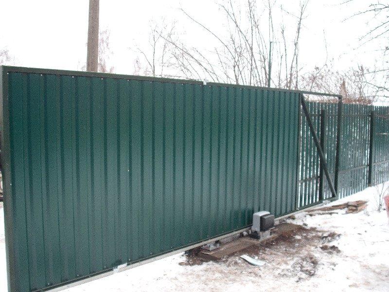 DSCF21241 Забор в Дмитрове