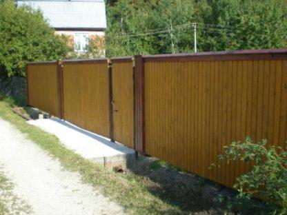 Недорогие заборы для частного дома