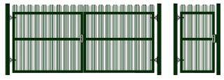 staket Ворота и калитки