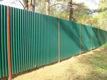 Забор на участке: цена за конструкцию и установку