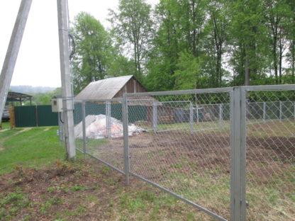 Забор из секционной сетки в г. Верея