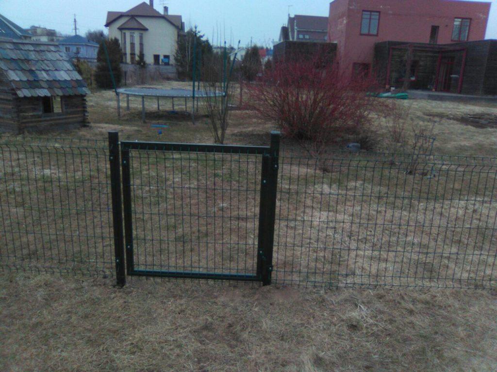 Забор из сетки 3D. в г. Дмитров