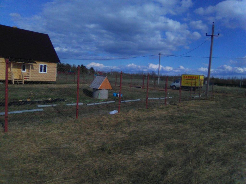 Забор из сетки в г. Сергиев посад