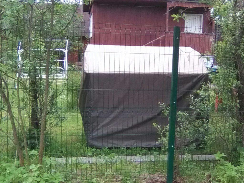 Забор из 3D секций в г. Верея