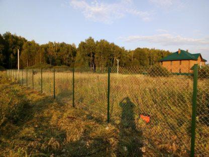Забор из сетки рабица в г. Чехов