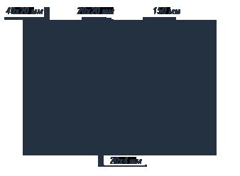 Заборы секционные из профильной трубы