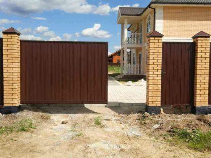 Откатные ворота г. Электросталь