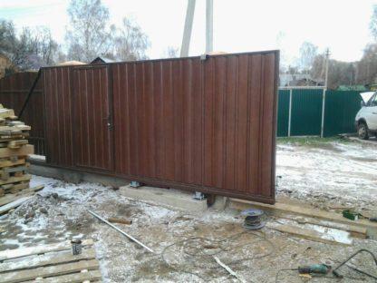 Откатные ворота г. Чехов