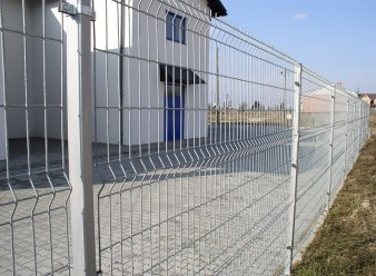 Заборы для дачи из панельных ограждений — 3D
