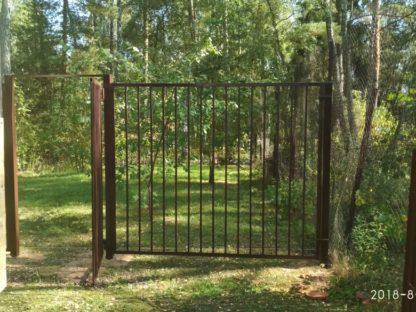 Забор из профильной трубы в г. Истра