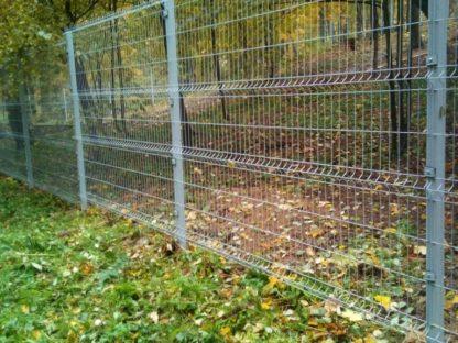 Забор 3Д — цвет 7040 в г. Истра